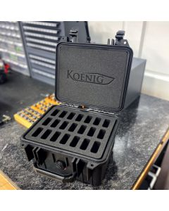Custom Koenig Pelican Case (1300 - 21 Knife Case)